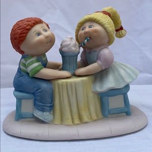 Vintage 1984 Cabbage Patch - Sharing a Soda Cream